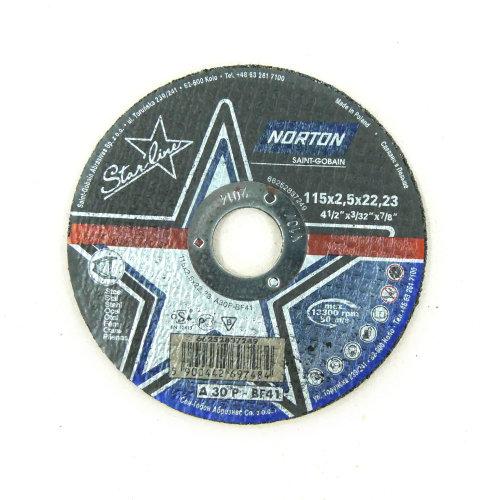Brusna ploča 115x2,5x22,23 A35 T41 STAR LINE