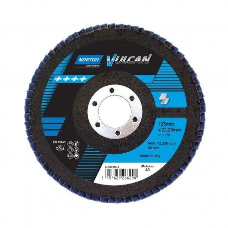 Lamelasti brusni disk - kosi R822 125x22 P40 VULCAN