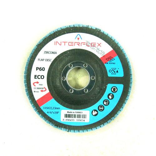 Lamelasti brusni disk 421X 115x22 P60 T29