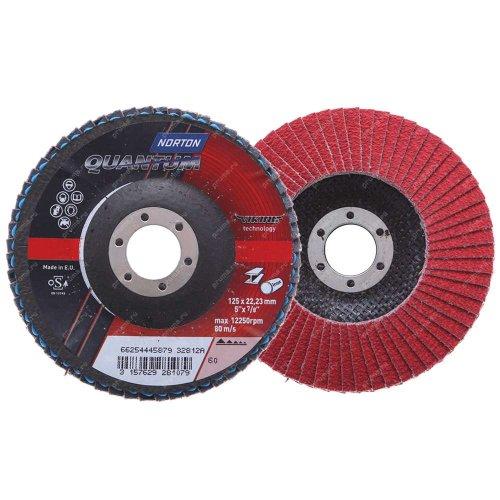 Lamelasti brusni disk - kosi R996 125x22 P60 QUANTUM