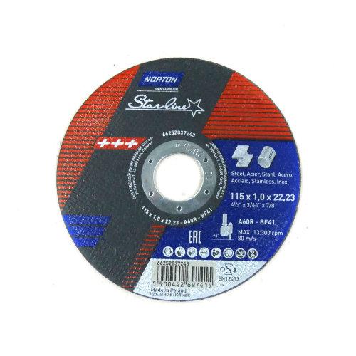 Rezna ploča 115 x 1,0 x 22,23 A60R - T41 STAR LINE
