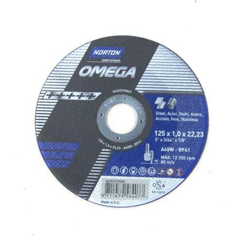 Rezna ploča 125x1,0x22,2 A60W T41 OMEGA
