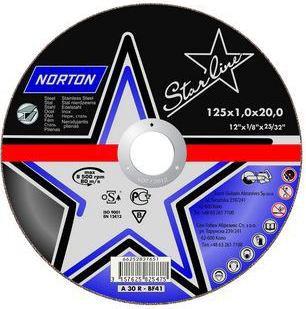 Rezna ploča A60R-125x1.0x22.23-T41 STAR LINE