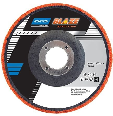 "Blaze Rapid Disc DIR DD 4-1/2""x7/8"" R9101 AOXC T27B +"