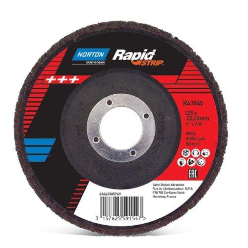 Rapid Strip Disc DIR DD 115x22 R4104 SIXC HBN BK RS